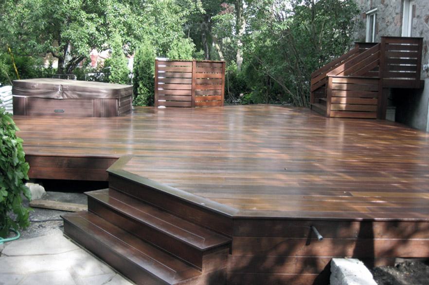 Vinyl decking carrew contracting inc for Vinyl decking material