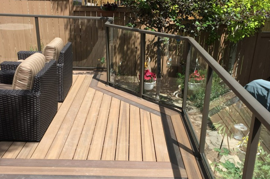 Carrew contracting inc the best kelowna fence deck builder for Vinyl decking material